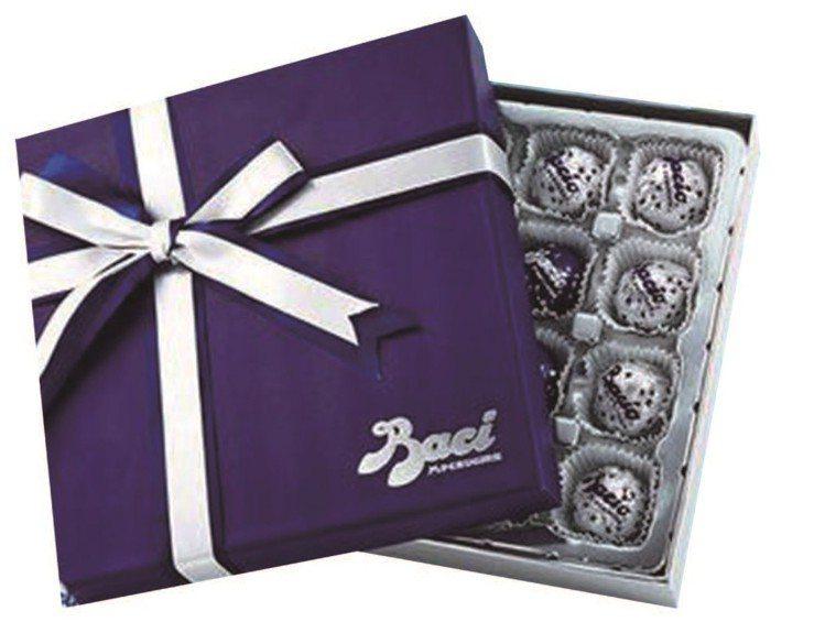 BACI義大利榛果巧克力禮盒,499元。圖/JASONS提供