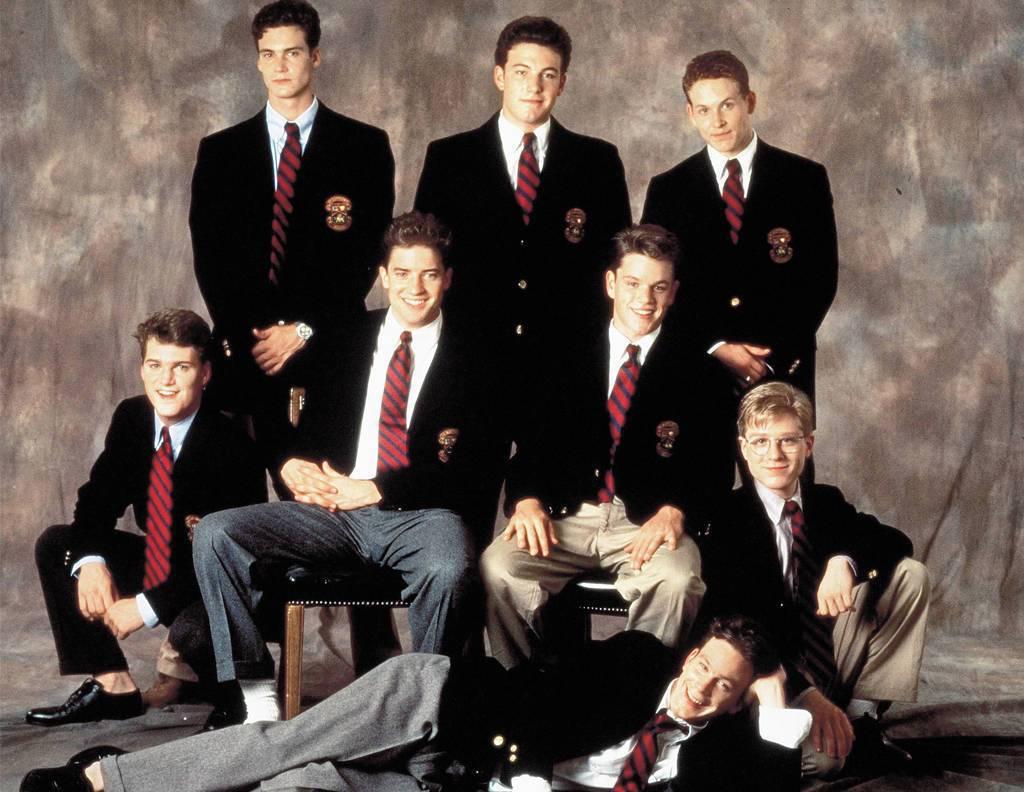 「校園風雲」讓克里斯歐唐納(中排左起)、布蘭登費雪、麥特戴蒙、班艾佛列克(後排中...