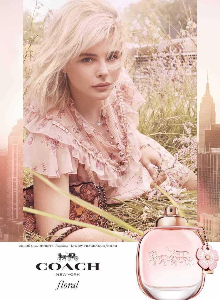 COACH將品牌標誌性元素「茶香玫瑰」延伸到香氛市場,全新推出芙洛麗淡香精COA...