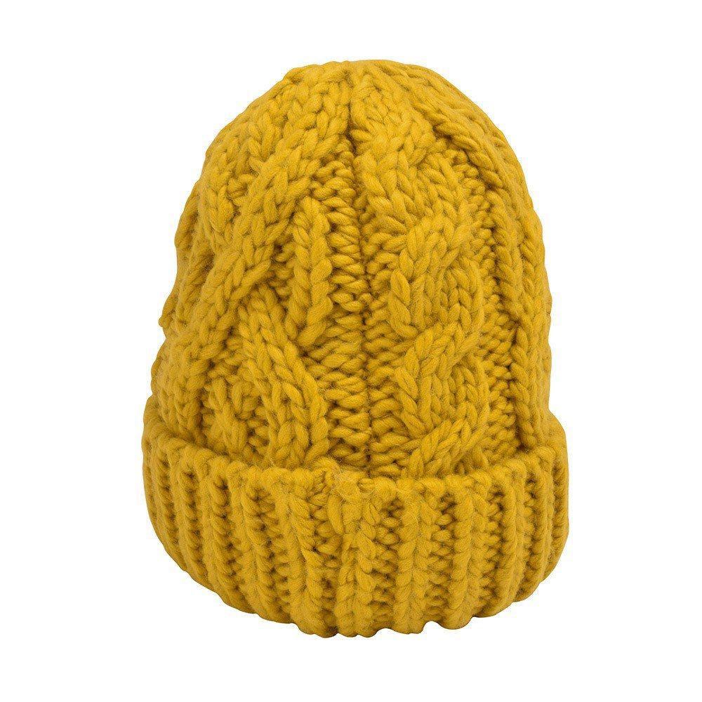 針織帽190元。圖/GU提供