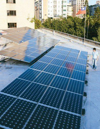 全民綠能屋頂方案原本約需整合五千戶,但遭質疑難度太高,能源局現規劃最小規模只要五...