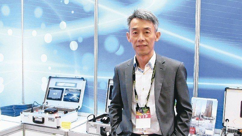 奇美車電總經理徐學賢。 翁永全/攝影