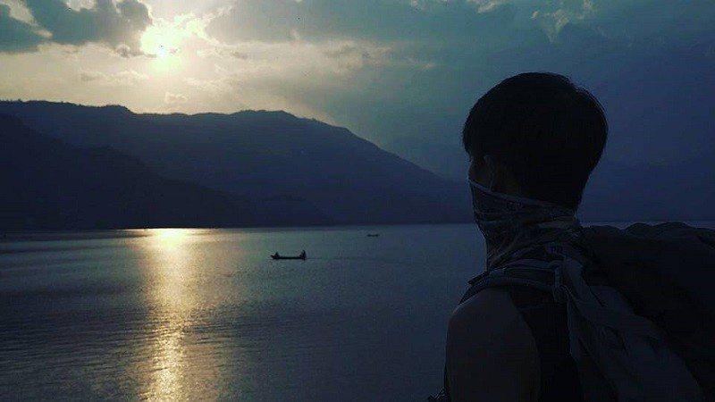 費瓦湖黃昏