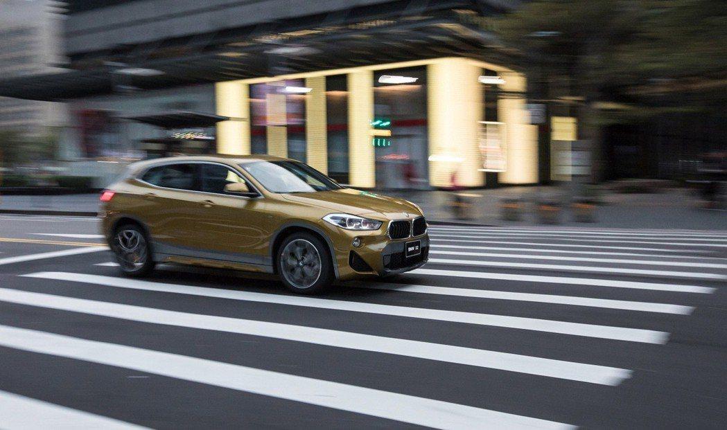 BMW總代理汎德邀請您一同體驗全新首創BMW X2 所帶來大膽、不受拘束的跨界魅...
