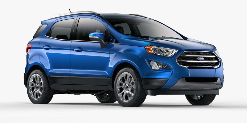 FORD Ecosport。 圖/FORD提供