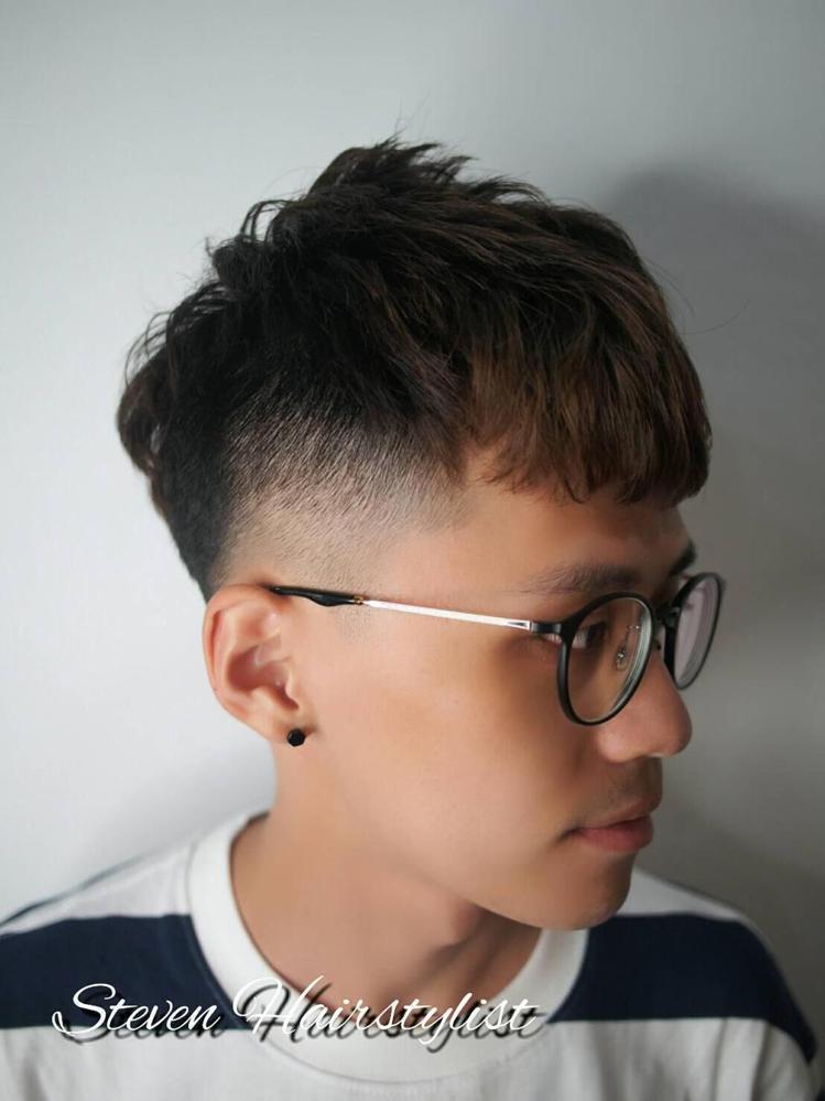 髮型創作/Steven Regal。圖/HairMap美髮地圖提供