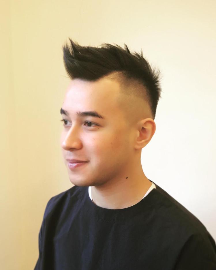 髮型創作/Ian Chao。圖/HairMap美髮地圖提供