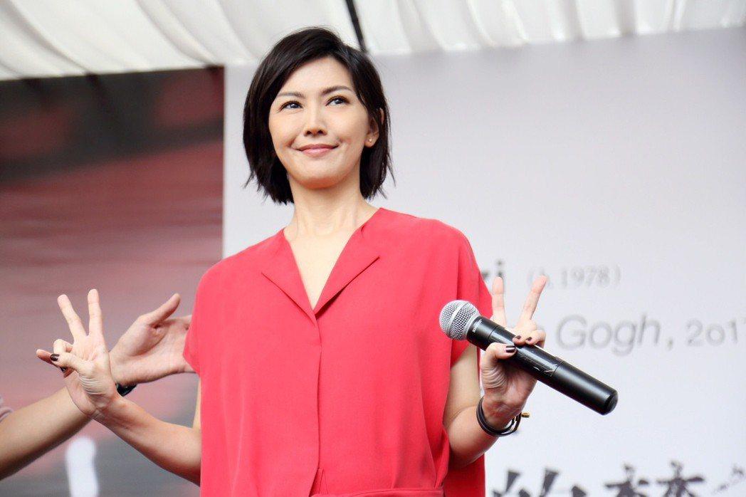 孫燕姿在新加坡舉辦新專輯媒體見面會。圖/環球唱片提供