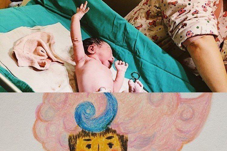 簡嫚書去年7月同時宣布結婚及懷孕,她昨日在instagram上公布喜訊,產下一女「雲大」,她感動表示:「在大家的祝福下,雲大於2/10早上順利蹦出來了。」簡嫚書選擇自然產,生產過程相當痛,不過也成功...