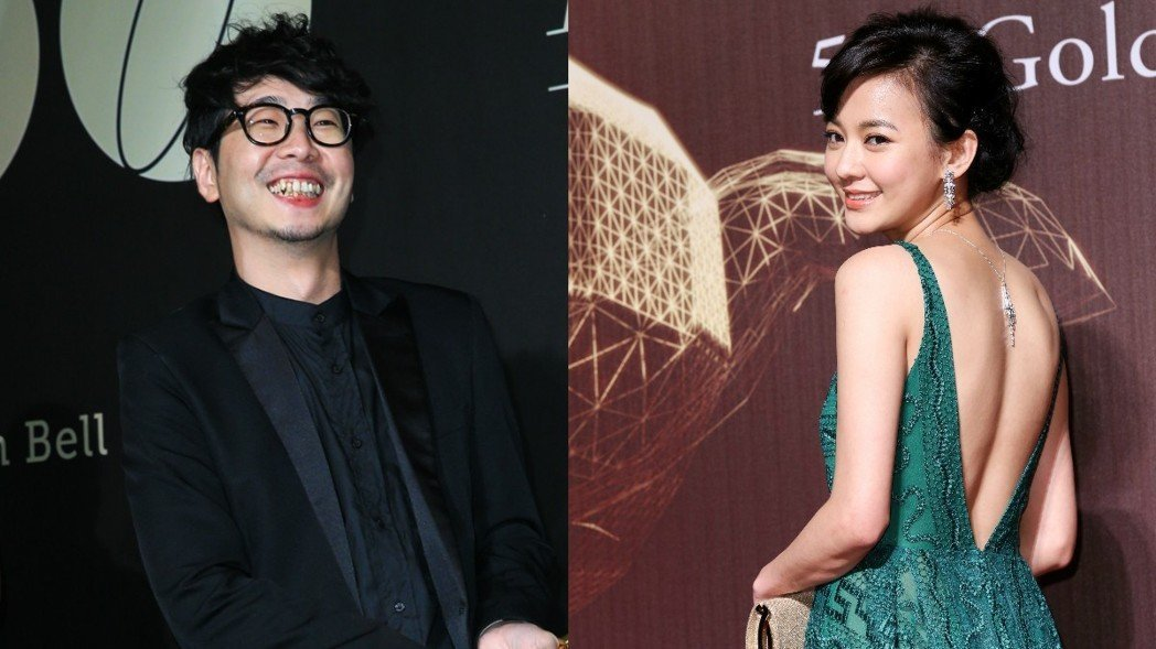 導演許富翔(左)被爆是陳意涵新男友。圖/聯合報系資料照