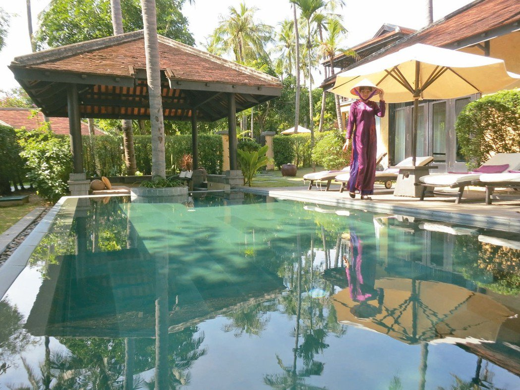 安娜塔拉「Anantara Resort」度假村。 記者黃日暉/攝影
