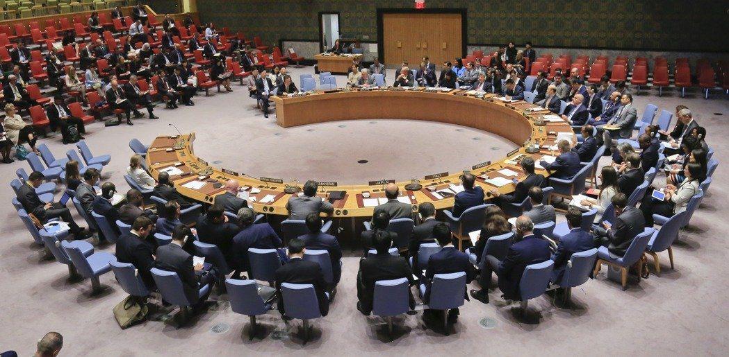 聯合國也曾把「中華人民共和國」誤植為「中華民國」。 圖/聯合報系資料照片
