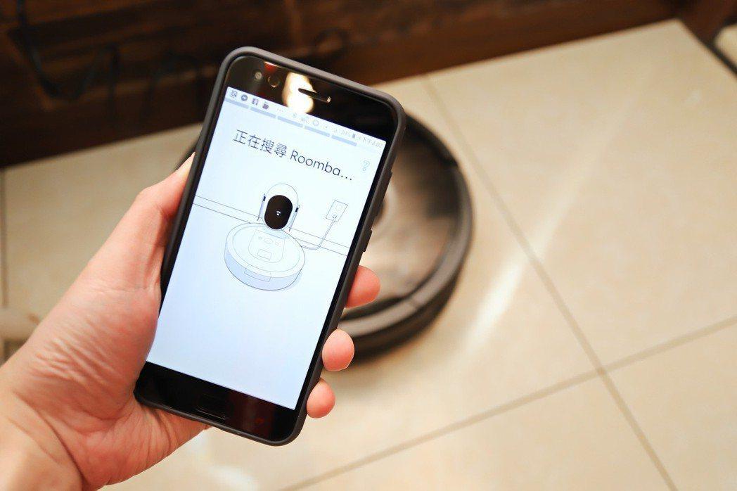 APP在手哪怕在國外還是能操作iRobot Roomba 980wifi。 彭子...