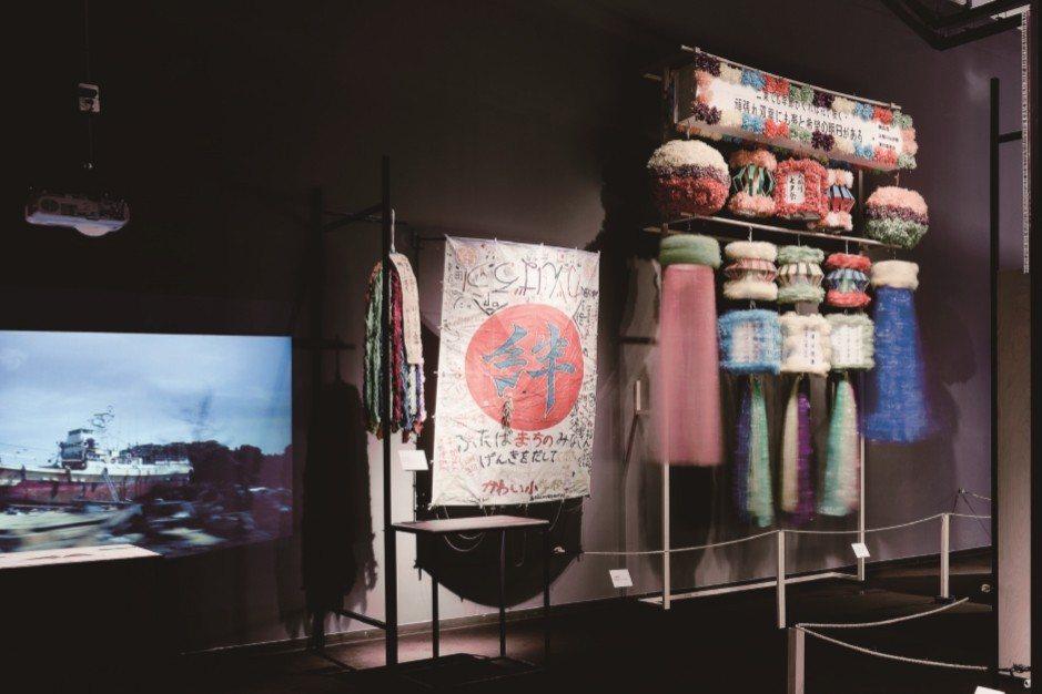 為協助受災地區回復生活,日本政府、博物館及大學等機構投入作為地區精神重心的文化財搶救,更進一步也著手保存社會集體對震災的共同記憶。  圖/國立臺灣歷史博物館提供