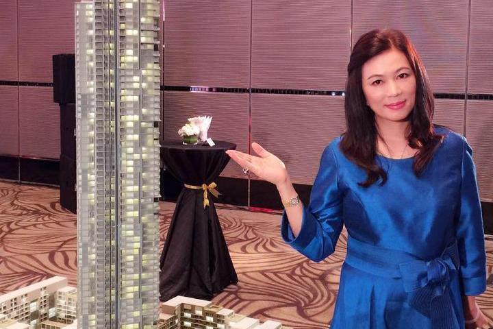 鄭筠心總裁說,獅王團隊結合對泰國房地產有興趣的各國大型房仲、代銷、資金、建商,合...