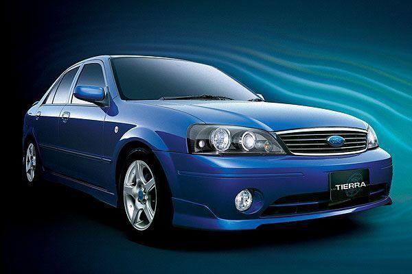 Ford Tierra 是許多人喜愛的車款 好養好開 操控佳 還有出手排版本。 摘自Ford