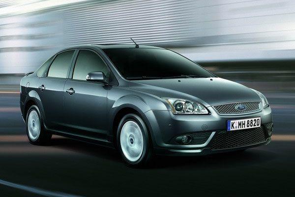 第二代Ford Focus。 摘自Ford