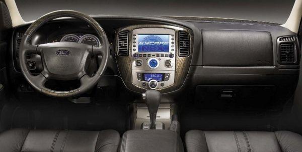 Ford Escape內裝依舊簡約。 摘自Ford