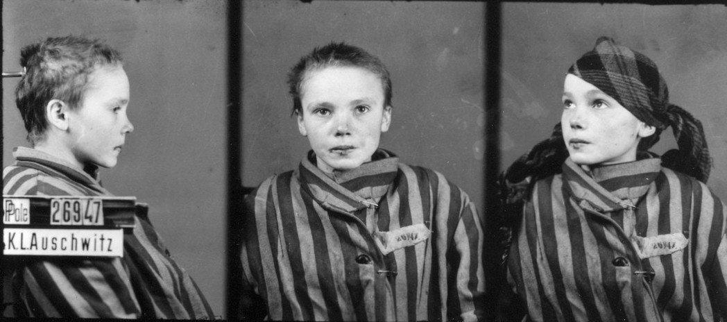 相較於大屠殺中的猶太人,非猶太裔波蘭人的受難史,則常常被世人遺忘。圖為奧斯威辛集...