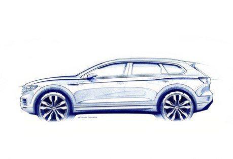 2019 Volkswagen Touareg將導入後輪轉向系統