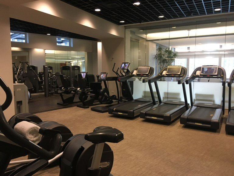 設備齊全的健身房,酒店住客都可自由使用。圖文來自於:TripPlus