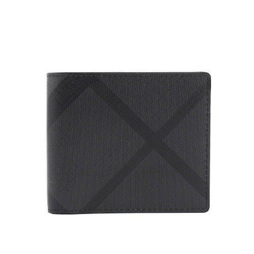 原價11,500的【BURBERRY】經典格紋8卡短夾(炭灰/黑),即日起至2月...