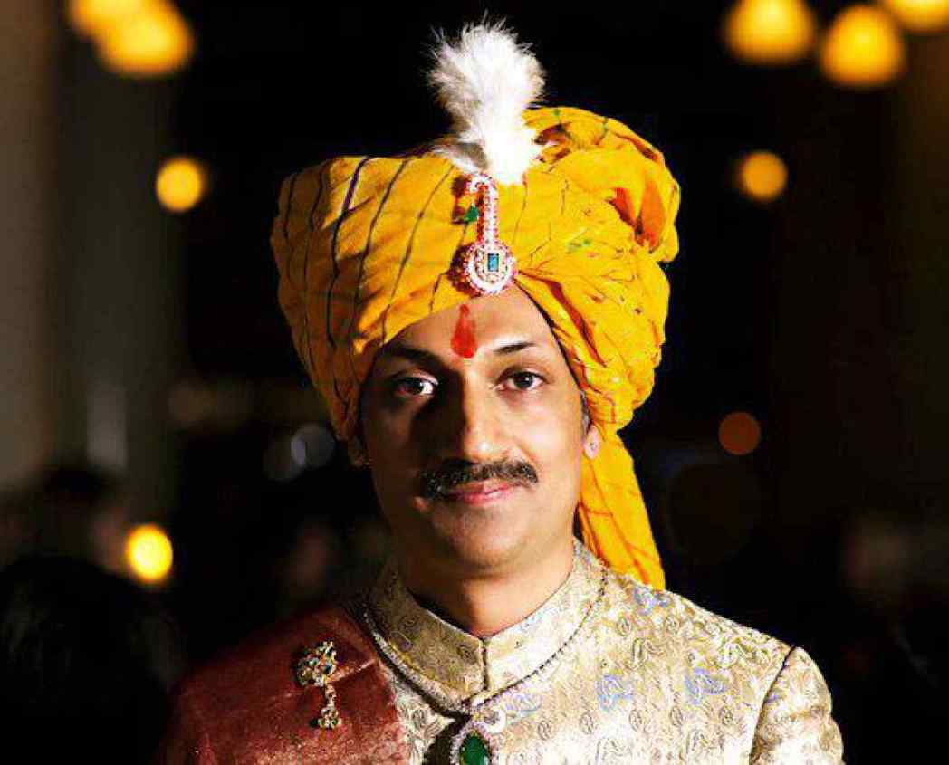 印度西部古吉拉特邦(Gujarat)的王子曼文德拉。路透