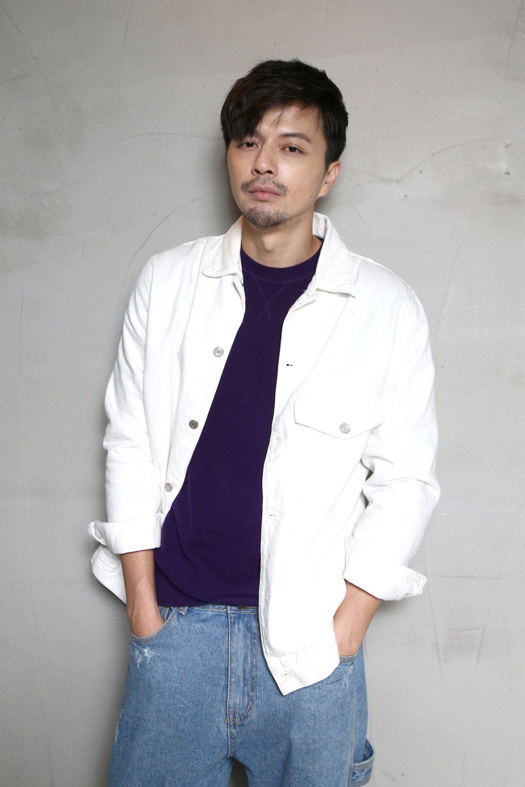 「是非」的演員江常輝專訪。記者蘇健忠/攝影