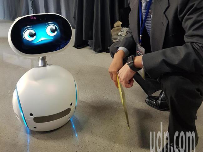 機器人示意圖。 報系資料照