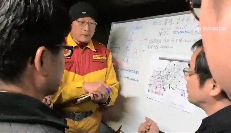 大陸東南衛視駐台記者葉青林在其臉書上公開了日前日本搜救隊與日本搜救隊當時對話的影...