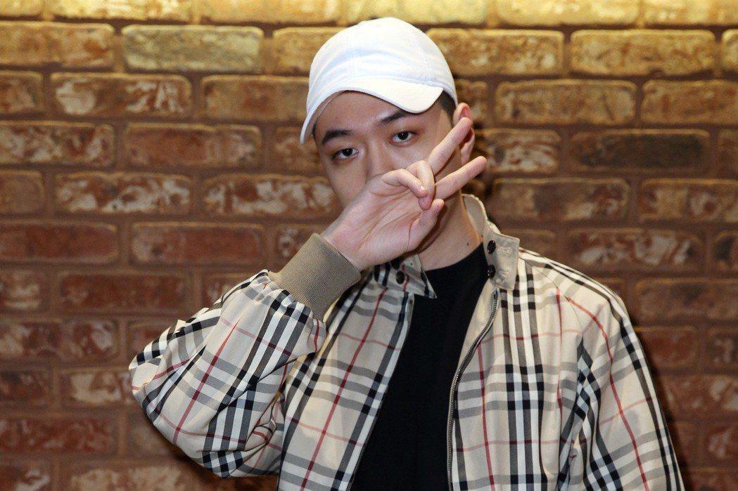 韓國嘻哈歌手BewhY。記者曾吉松/攝影