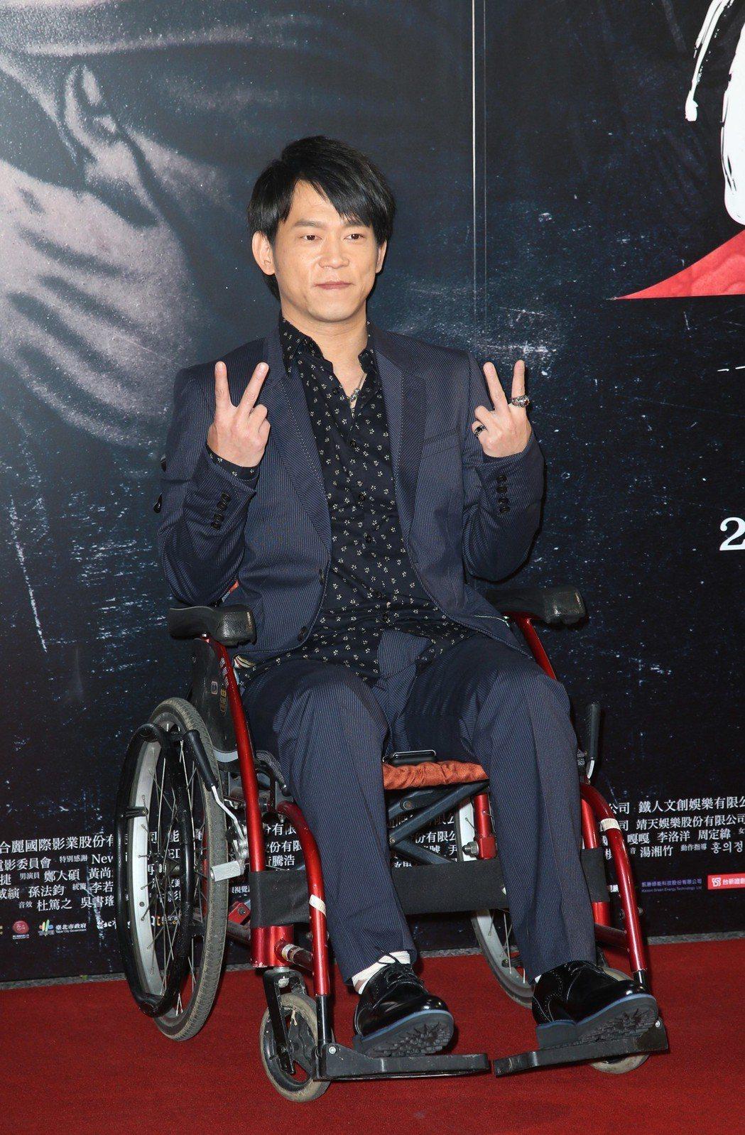 導演顏正國出席電影「角頭2」首映會。記者陳瑞源/攝影