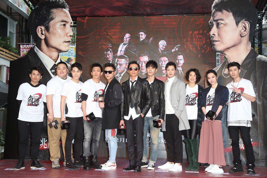 電影「角頭2」舉辦見面會,群星會粉絲。記者陳瑞源/攝影