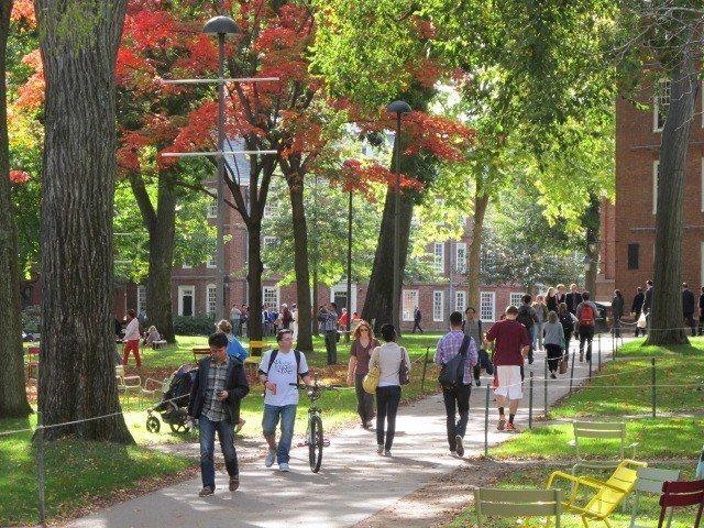 哈佛大學。 記者唐嘉麗/攝影