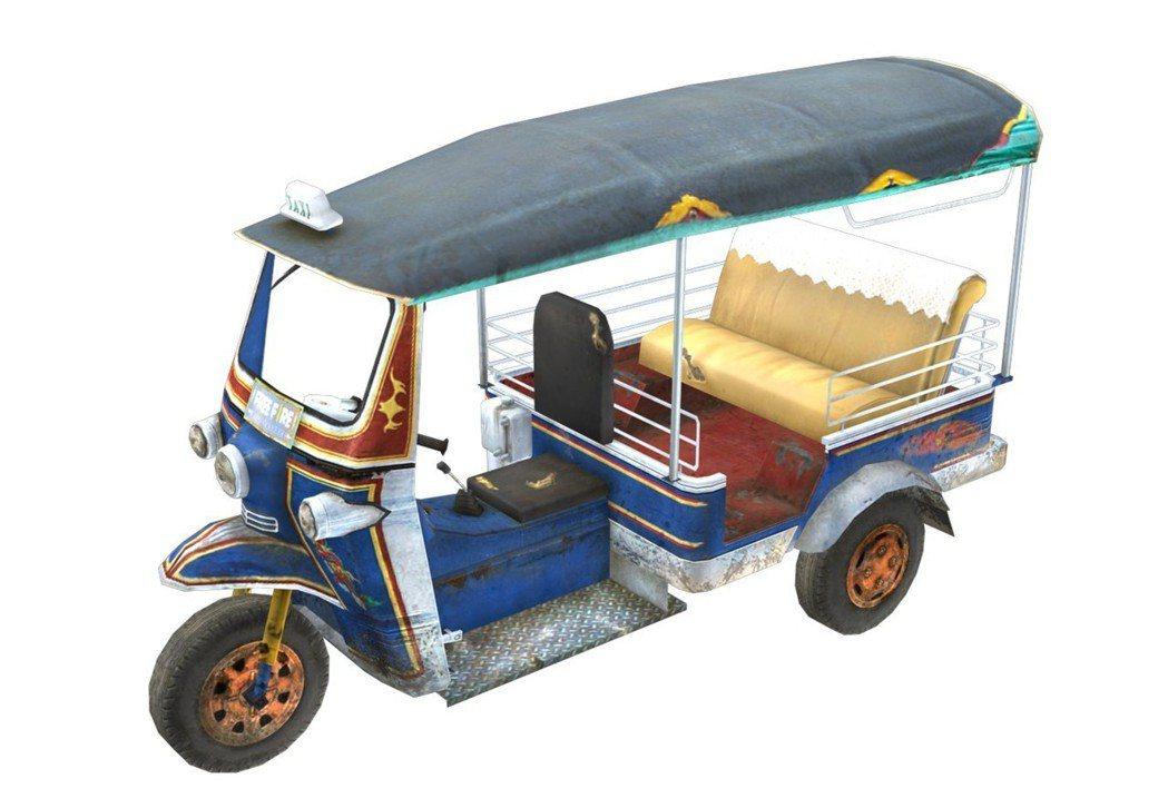 濃厚東南亞色彩的嘟嘟車,載著玩家一起活下去!