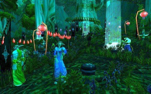 《魔獸世界》一年一度的新年節慶陪玩家過春節!