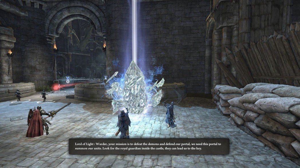 通關的主要目標很簡單,抵擋入侵的敵人,保護 Nexus 不受到破壞。