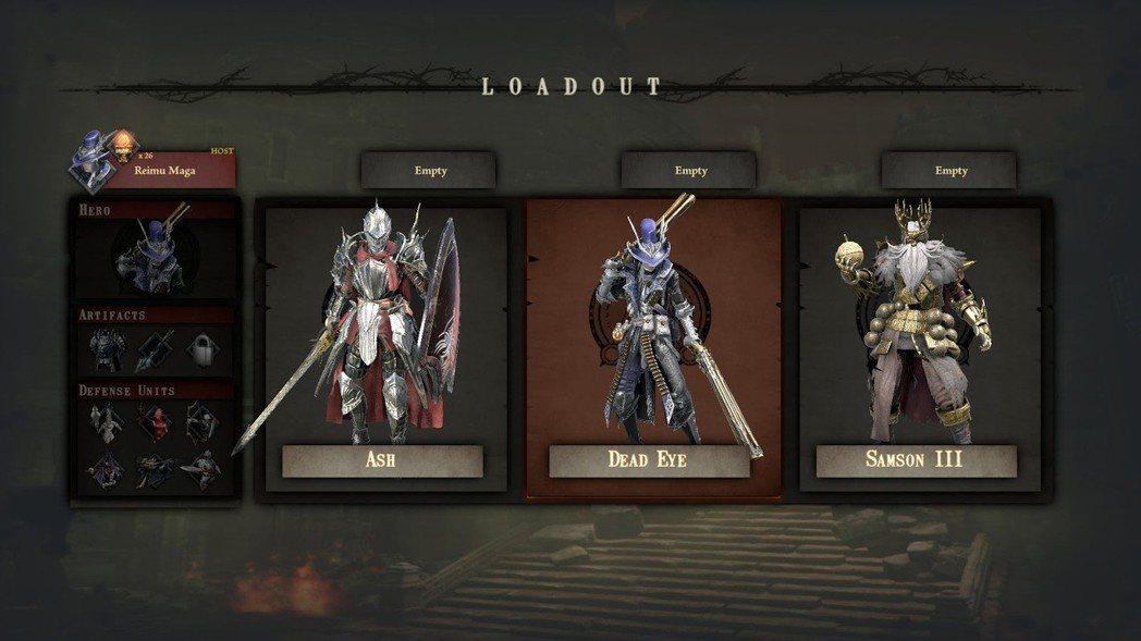 當前版本支援的英雄角色共三名,第四名法師職業會在完整版釋出。