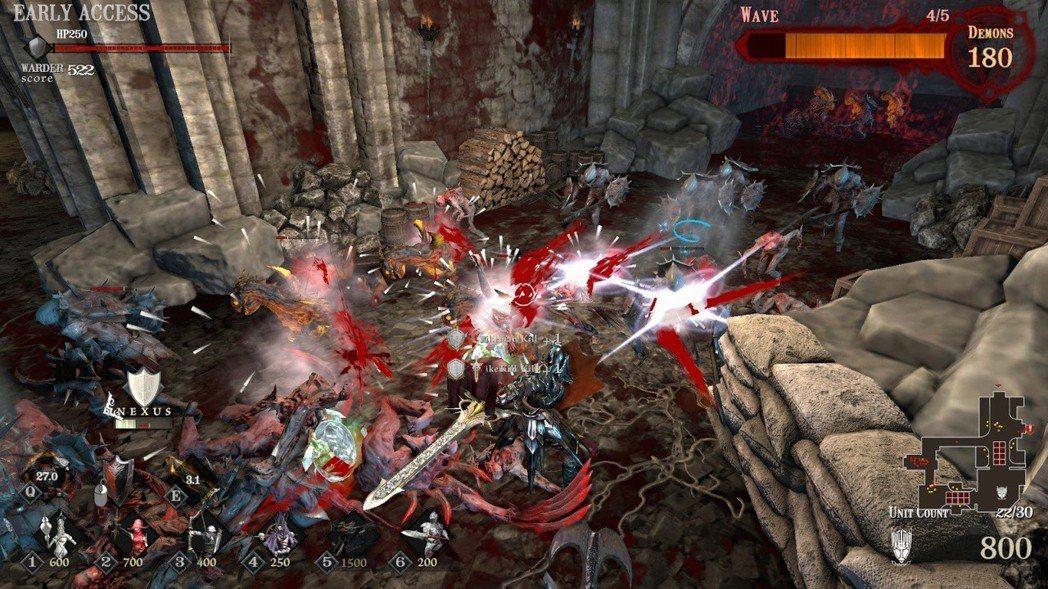 最怕就是直接衝入敵陣,敵人攻擊英雄沒有反饋感,怎麼死的都不知道。