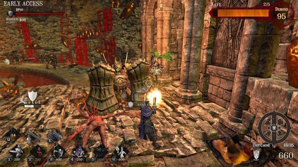 雙持盾牌兵免疫正面攻擊,卻極度懼怕魔法攻擊,建議使用技能擊破。