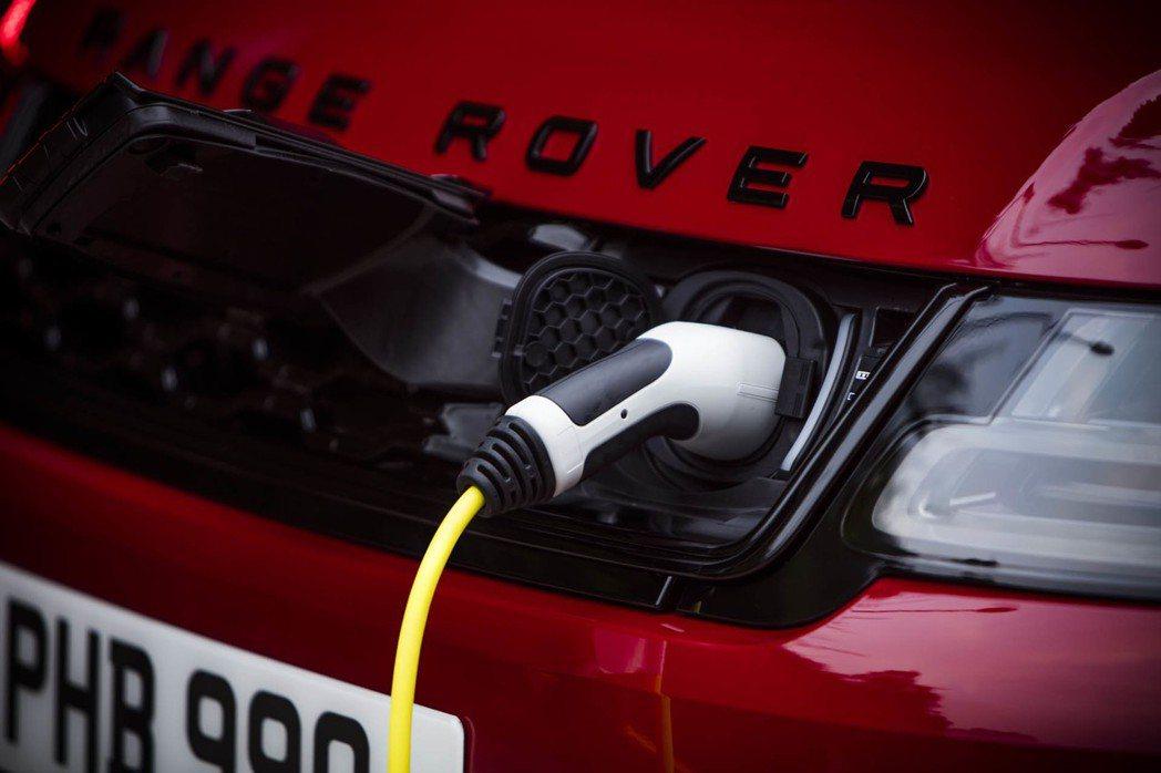 Land Rover首款插電式複合動力車型。 摘自Land Rover