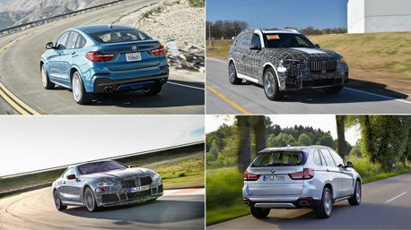 進擊的X系列 2018年BMW新車不間斷