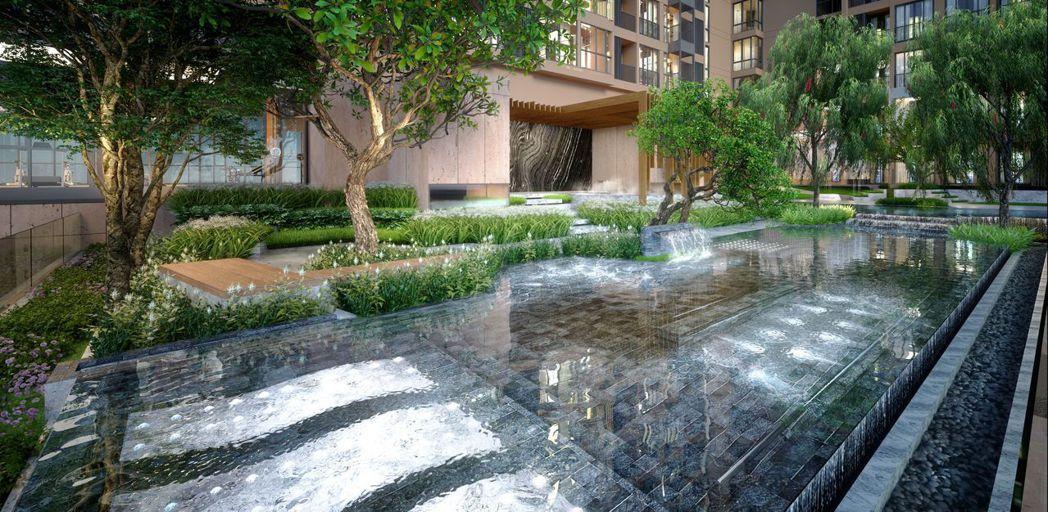oka HAUS建案設計上以與大自然融合為主題,讓住戶回家就能放鬆 尚思瑞/提供