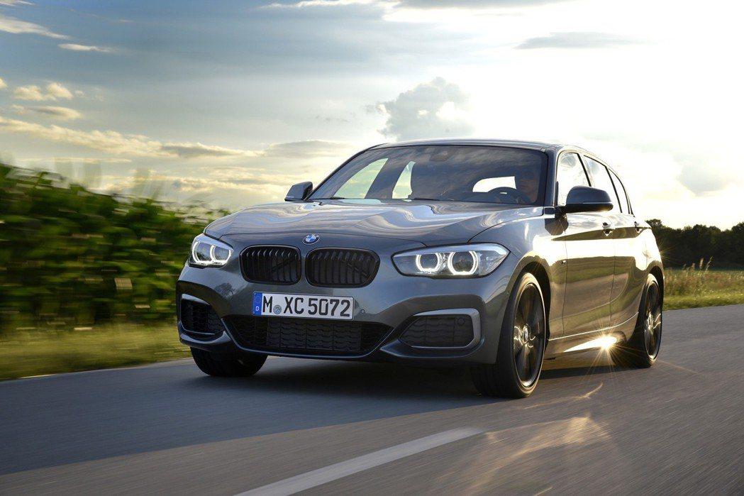 BMW 1-Series(F20),在2017年銷售依舊長紅。 摘自BMW