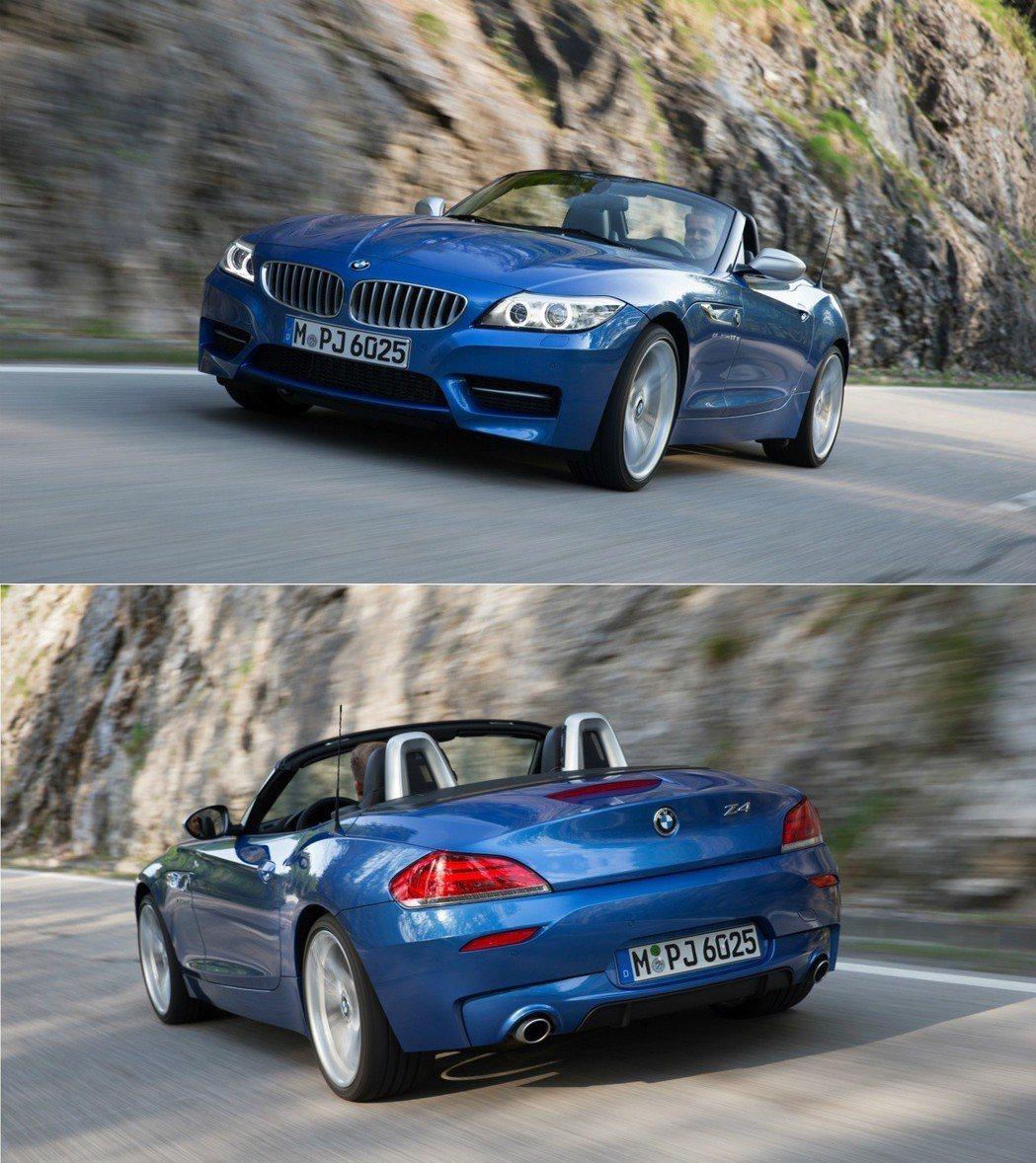 圖為第二代BMW Z4(E89) 摘自BMW