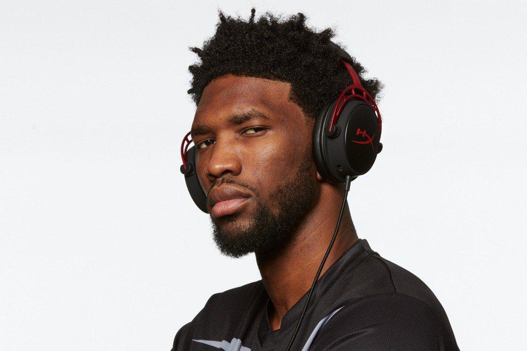 HyperX邀請NBA費城76人隊明星中鋒Joel Embiid出任電競耳機產品...