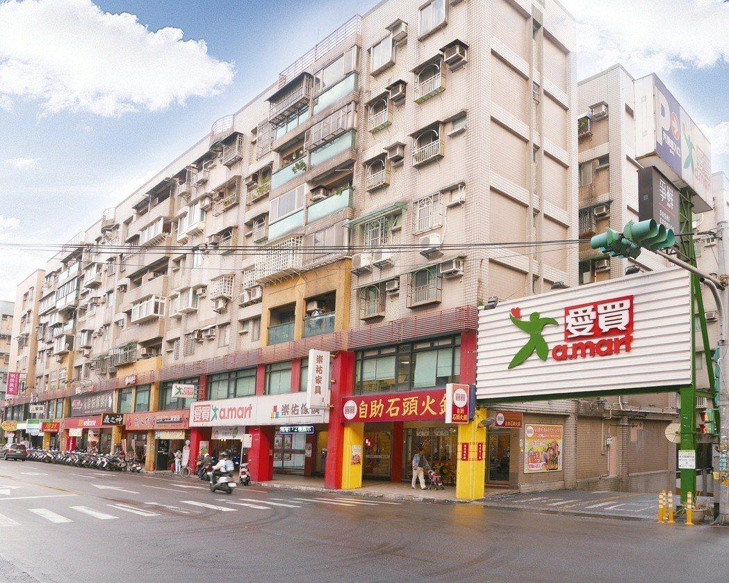 DTRE德天國際地產公告標售標售目前由基隆愛買承租的地下一樓商場,標售總價約4....