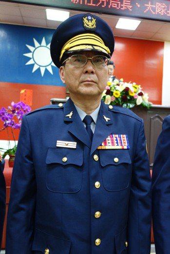 高市電玩弊案涉案的官警三線一星李世昌。圖/報系資料照
