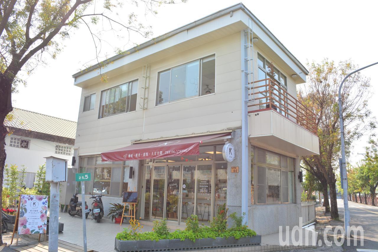 台南山上區啡卡(K.Fika)咖啡館,是當地第一家咖啡館。記者吳淑玲/攝影