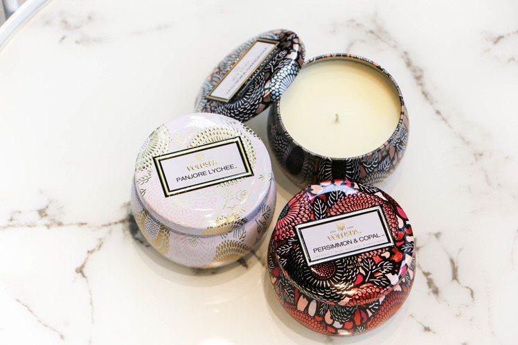 美國加州的知名香氛品牌 Voluspa,580元。圖/謝欣倫攝影